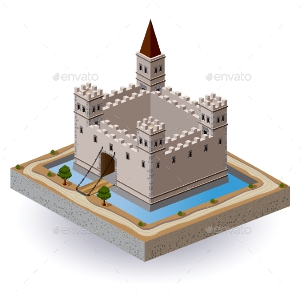 Castle - Buildings Objects