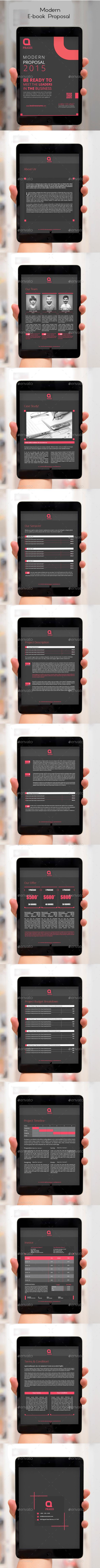 Modern E-book Proposal - ePublishing