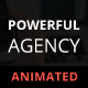 Powerful Agency - Animated Adobe Muse Template - ThemeForest Item for Sale