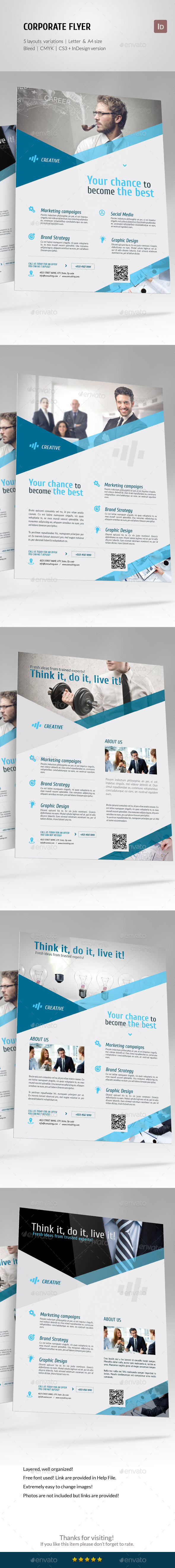 Corporate Business Flyer Set vol 5 - Corporate Flyers