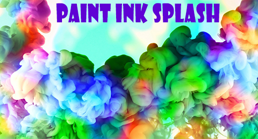 Colorful Paint Ink Splash