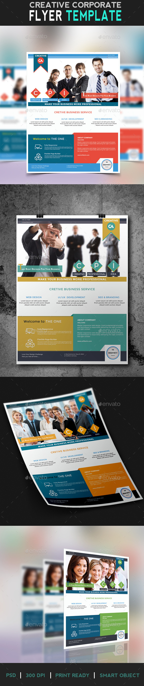 Flyer Creative Business - Corporate Flyers