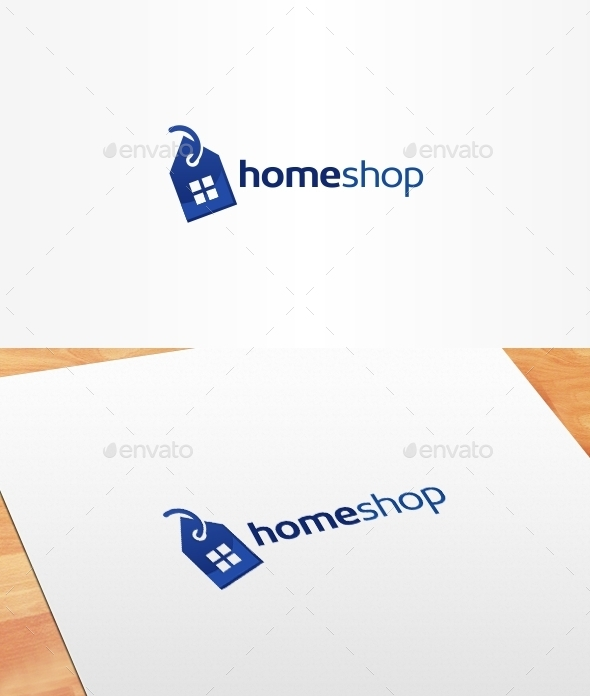 Home Shop Logo Template - Buildings Logo Templates