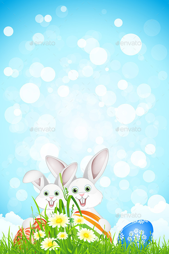 Easter Holiday Background - Seasons/Holidays Conceptual