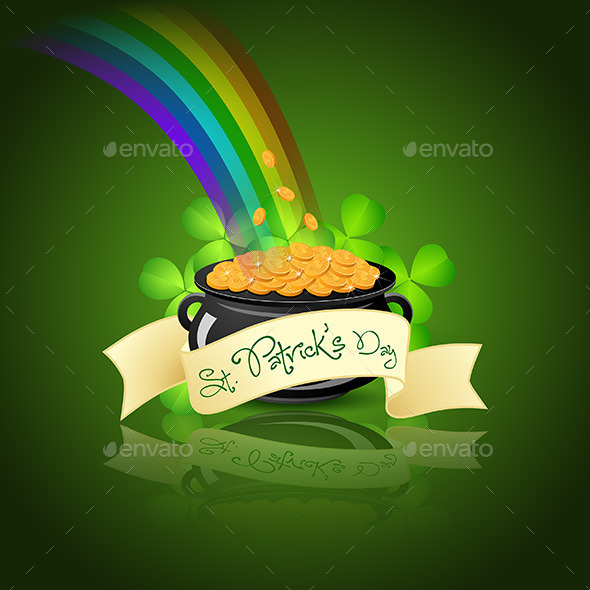 St. Patricks Day Card - Seasons/Holidays Conceptual