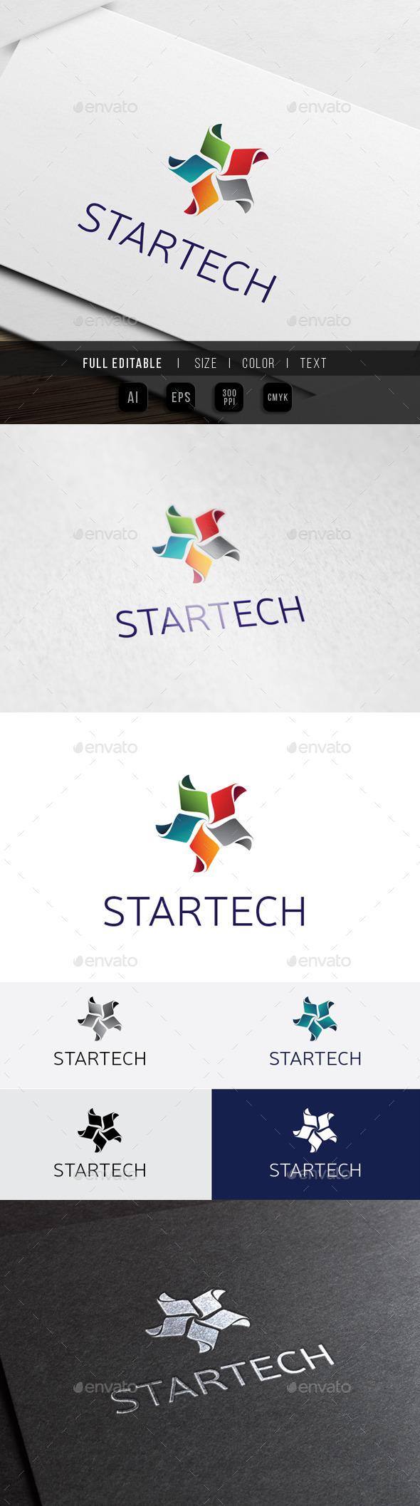 Star Media Technology - Creative Studio - Symbols Logo Templates