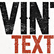 Letterpress Vintage Text Effects 2 - GraphicRiver Item for Sale