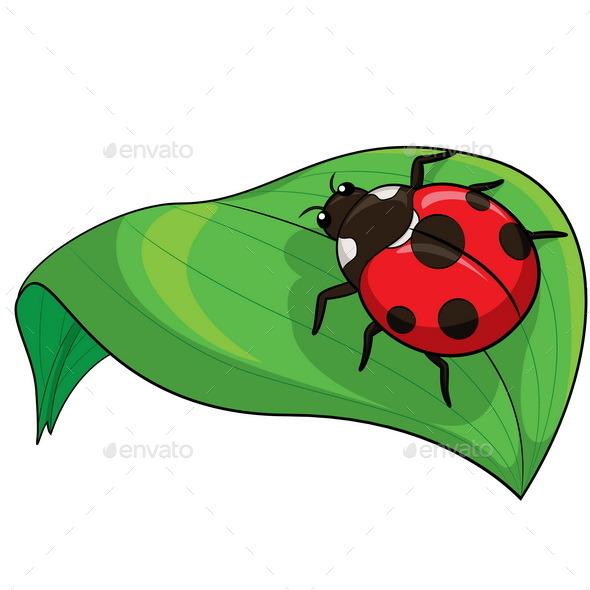 Ladybird Cartoon - Animals Characters