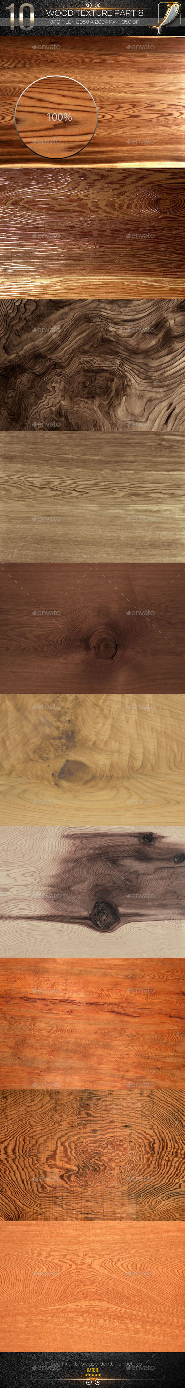 10 Wood Texture Part 8 - Wood Textures