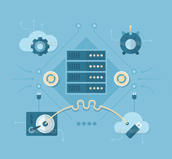 Online Backup and Storing Solutions - Technology Conceptual