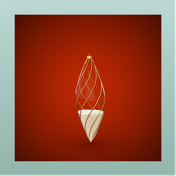 HiRes Christmas Decoration 9 - 3DOcean Item for Sale