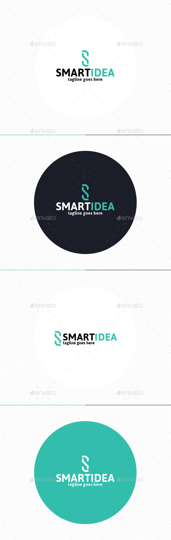 Smart Idea Logo • Letter S - Letters Logo Templates