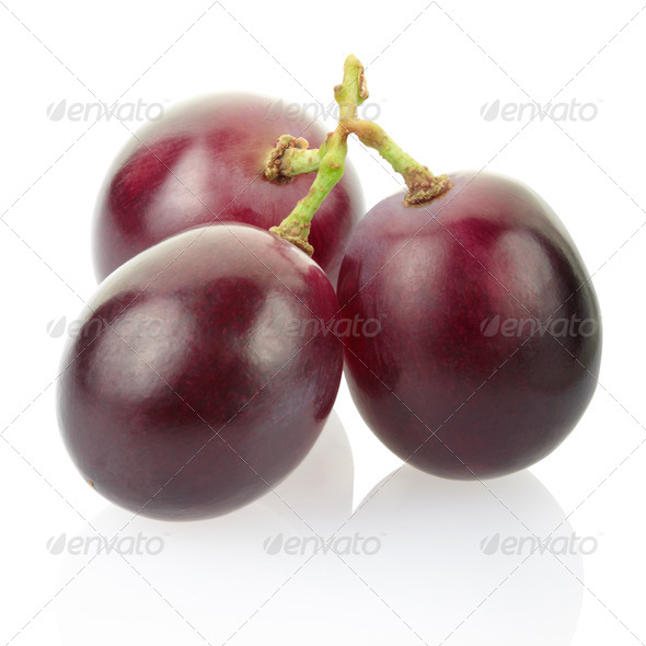 Red grape - Stock Photo - Images
