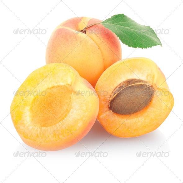 Apricot fruit - Stock Photo - Images