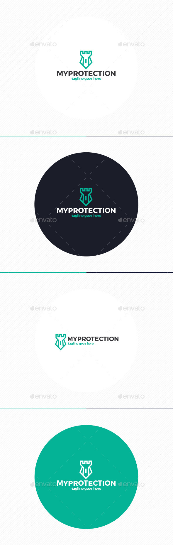 My Protection Logo - Symbols Logo Templates