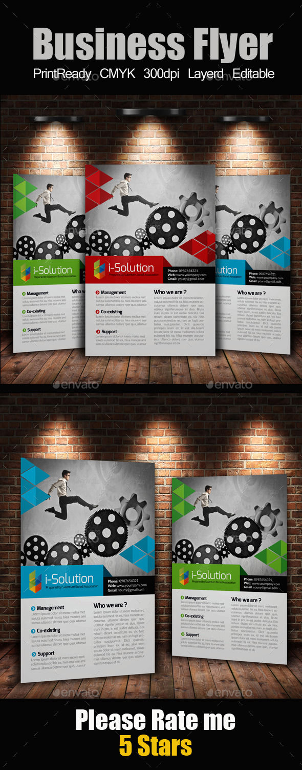 A4 Multi Use Business Flyer - Corporate Flyers