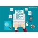 Programming Coding Flat Concept Illustration