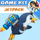 Jetpack Penguin Game Assets - GraphicRiver Item for Sale