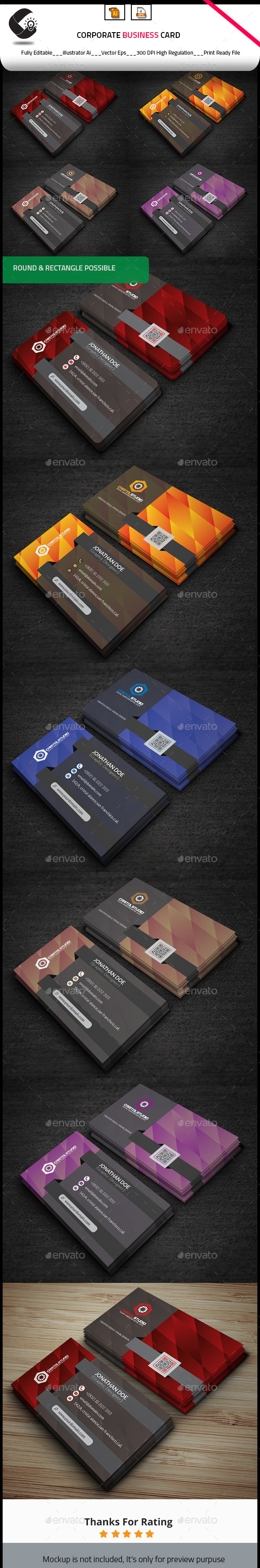 Creative Modern Business Card - Creative Business Cards