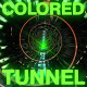 Abstract Colored Tunnel - VideoHive Item for Sale