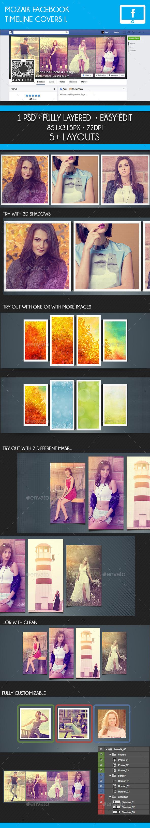 Mozaik Facebook Timeline Cover I. - Facebook Timeline Covers Social Media
