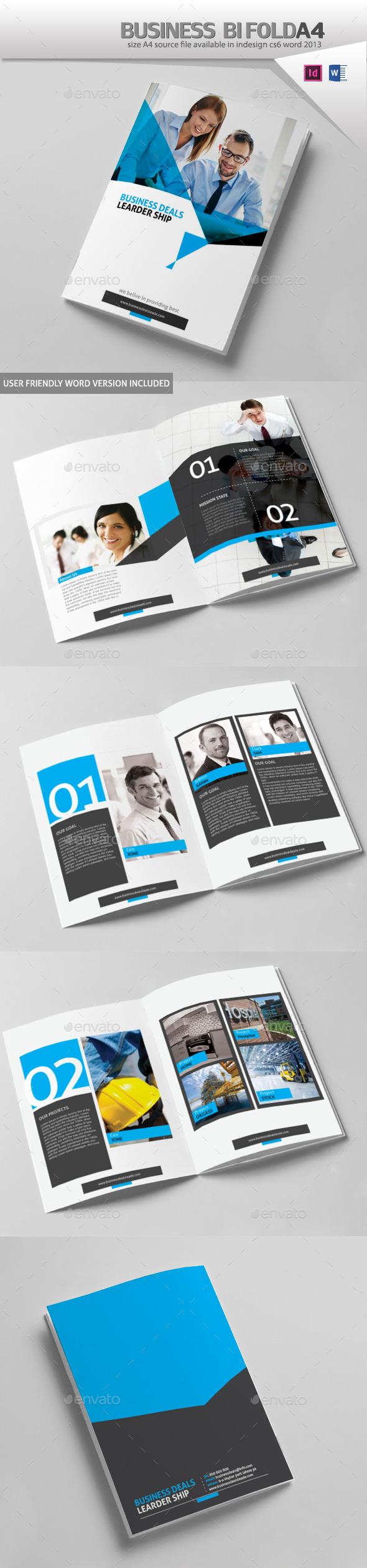 Business Brochure Design A4 - Corporate Brochures