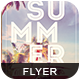 Summer Life Flyer - GraphicRiver Item for Sale