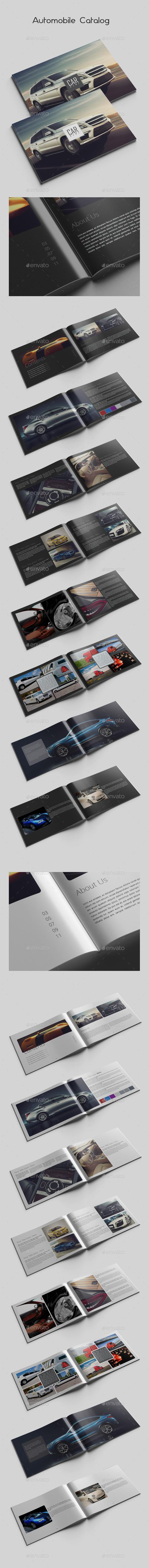 Automobile Catalog - Catalogs Brochures