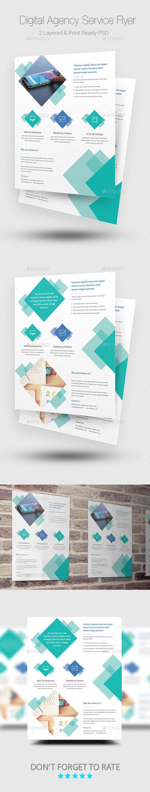 Digital Agency Flyer Templates - Corporate Flyers