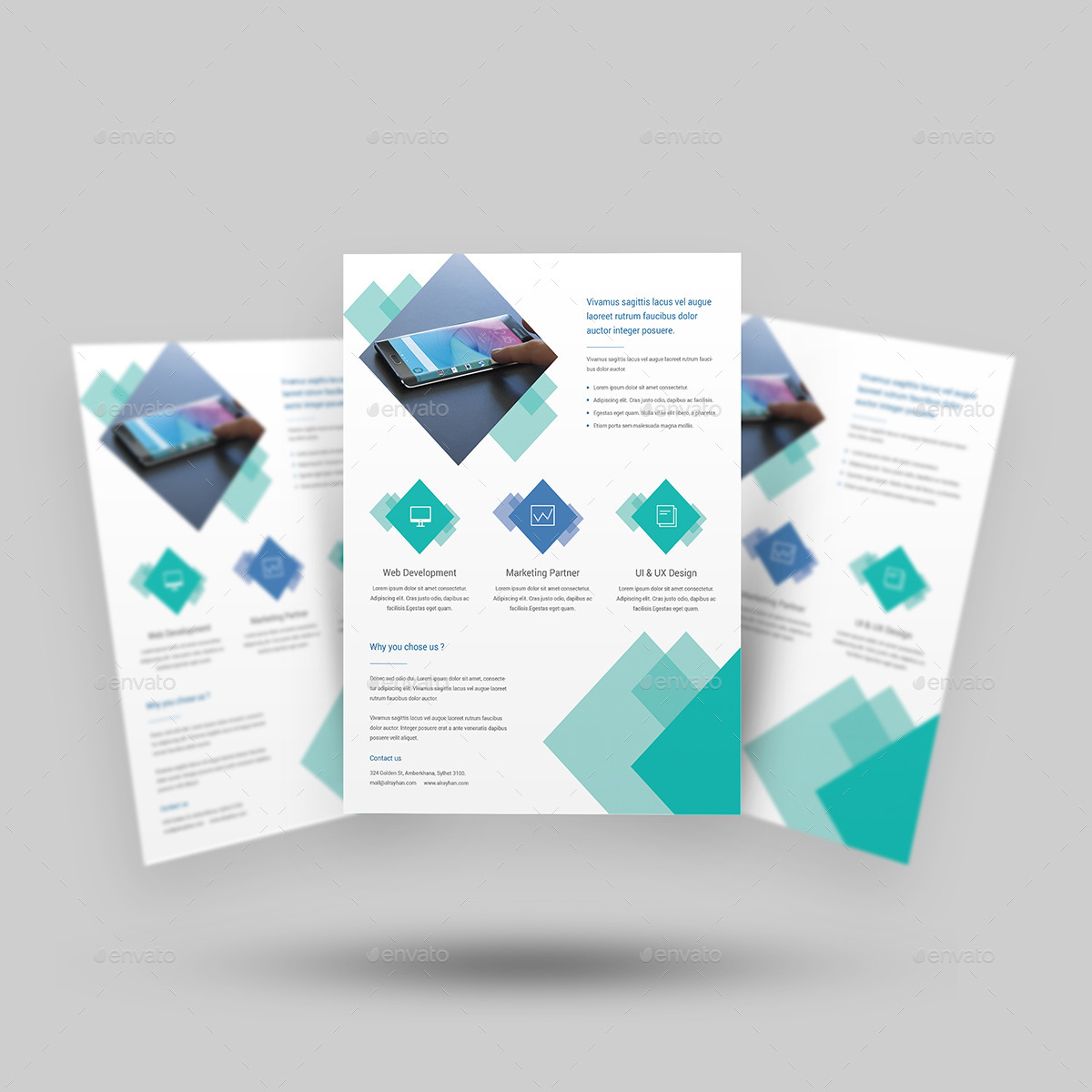 digital agency flyer templates by rtralrayhan
