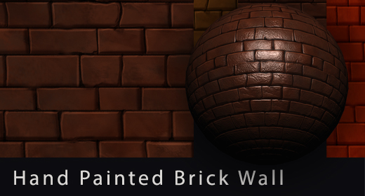 Hand Painted CG Textures Walls