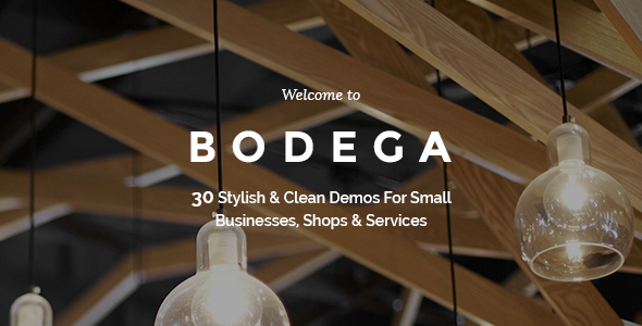 Bodega – A Stylish Theme For Small Businesses