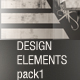 design elements pack 1 - GraphicRiver Item for Sale