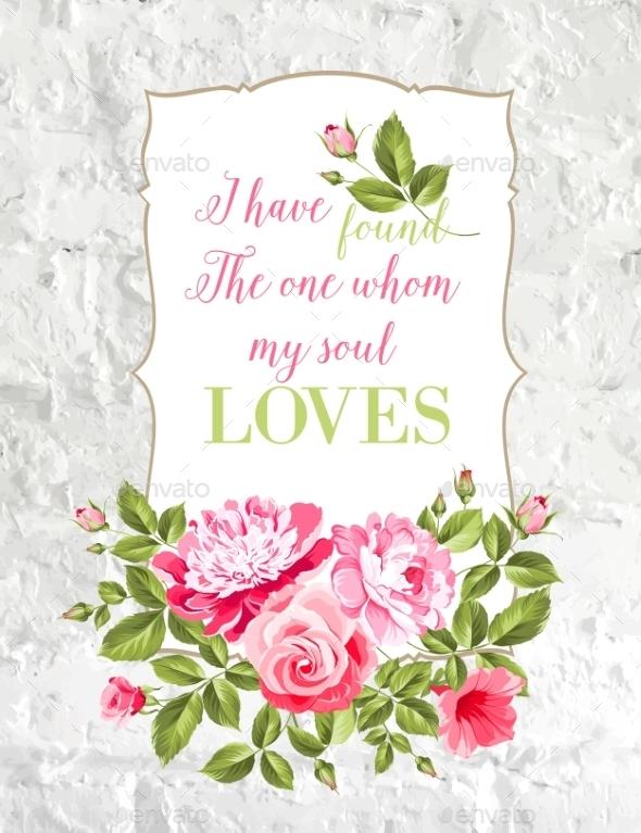 Wedding Card. - Flowers & Plants Nature