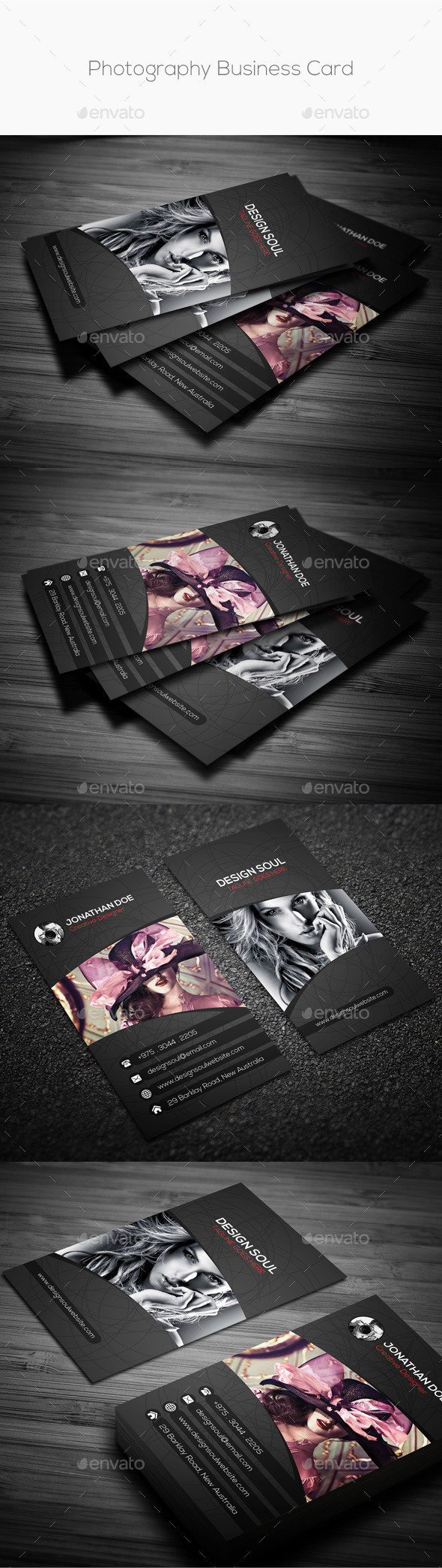 Photography Business Card - Creative Business Cards