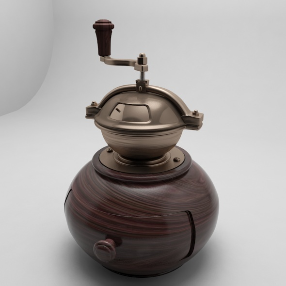 Modern Coffee grinder - 3DOcean Item for Sale