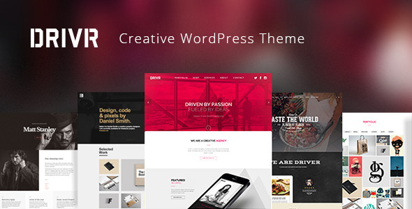 Driver – Responsive Multi-Purpose WordPress Theme