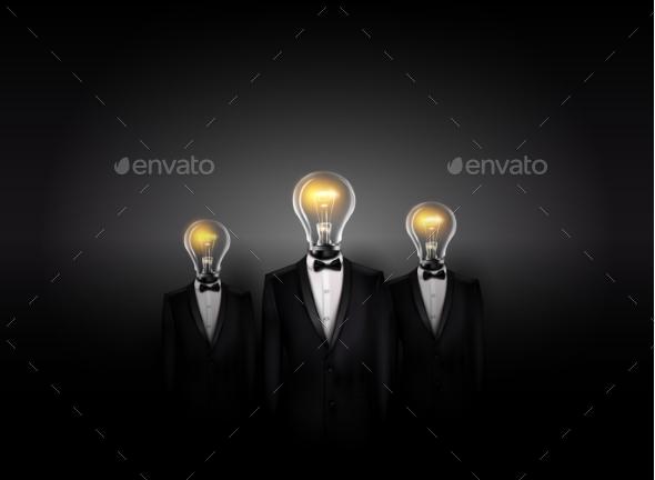 Conceptual Business Background - Miscellaneous Vectors