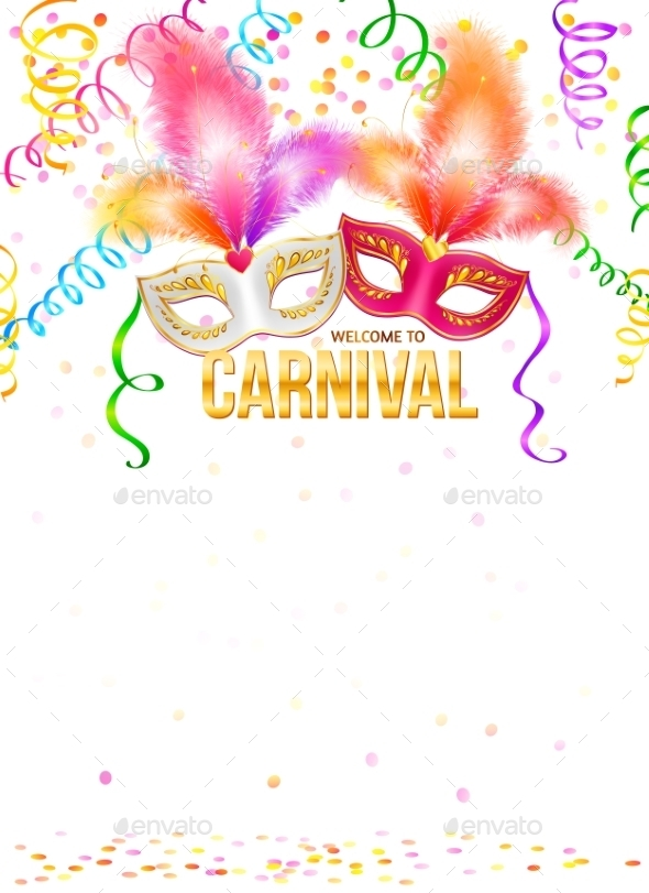 Carnival Masks - Decorative Symbols Decorative