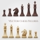 Vector Chess Figures - GraphicRiver Item for Sale