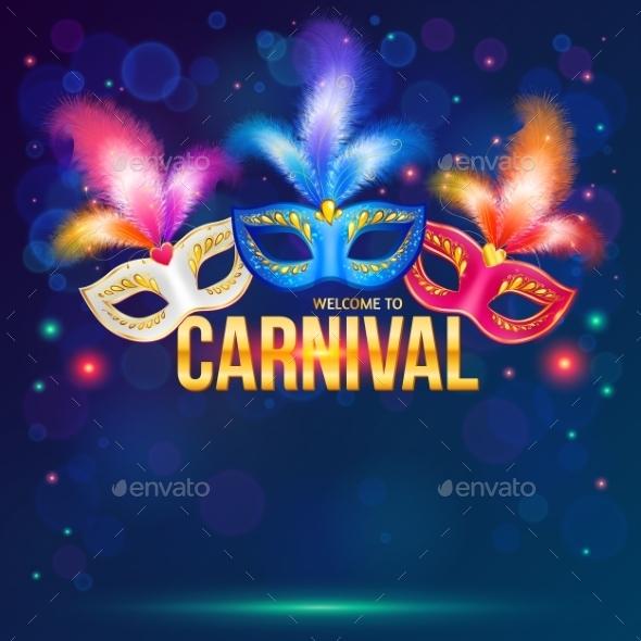 Carnival Masks - Miscellaneous Seasons/Holidays