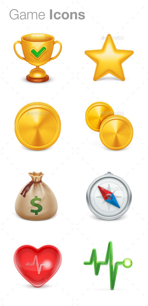 Game Icons - Objects Icons