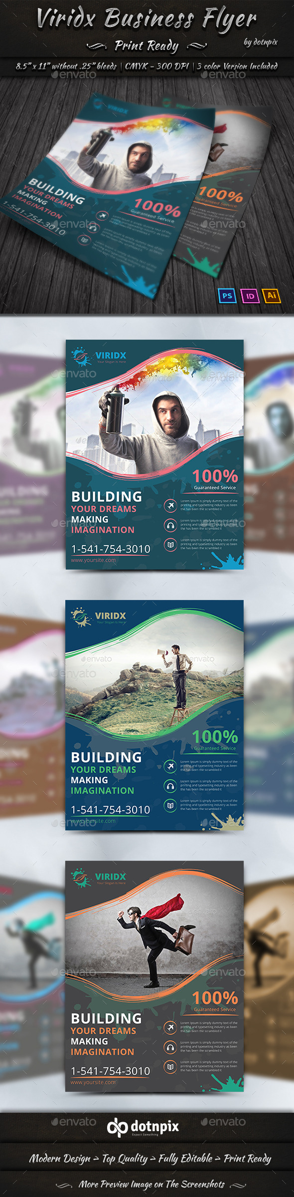 Viridx Business Flyer - Corporate Flyers