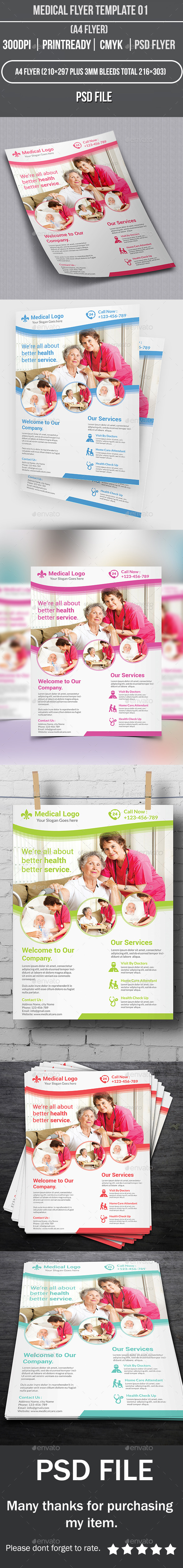 Medical Flyer Template 01 - Corporate Flyers