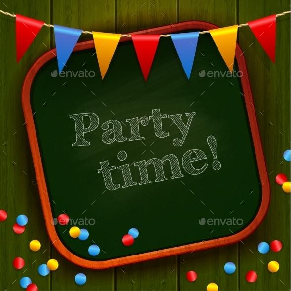 Party Board - Decorative Vectors