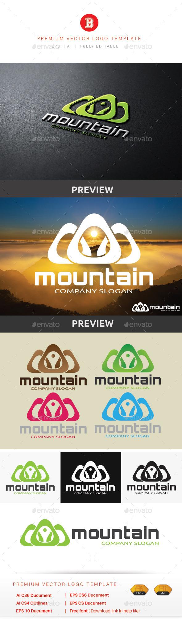 Mountain V.6 - Nature Logo Templates