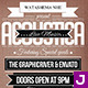 Vintage Typography Flyer - GraphicRiver Item for Sale