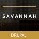 Savannah - Drupal Responsive vCard Portfolio Nulled