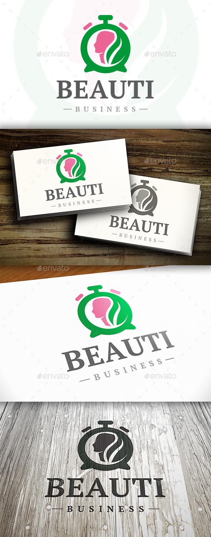 Beauty Time Logo - Humans Logo Templates