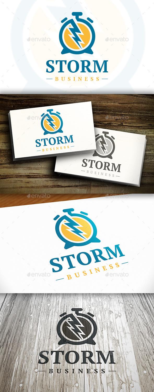 Creative Time Logo - Symbols Logo Templates